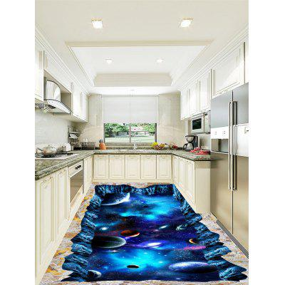 3D Starry Sky Universe Print Floor StickersWall Stickers<br>3D Starry Sky Universe Print Floor Stickers<br><br>Feature: Removable<br>Functions: Floor Sticker<br>Material: PVC<br>Package Contents: 1 x Floor Stickers (Set)<br>Pattern Type: 3D<br>Wall Sticker Type: 3D Wall Stickers<br>Weight: 1.0400kg
