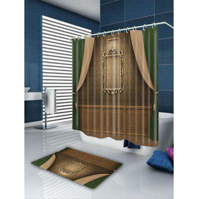 Printed Waterproof Bathroom CurtainShower Curtain<br>Printed Waterproof Bathroom Curtain<br><br>Materials: Polyester<br>Number of Hook Holes: W59 inch*L71 inch: 10; W71 inch*L71 inch: 12; W71 inch*L79 inch: 12<br>Package Contents: 1 x Shower Curtain 1 x Hooks (Set)<br>Pattern: Print<br>Products Type: Shower Curtains<br>Style: Trendy