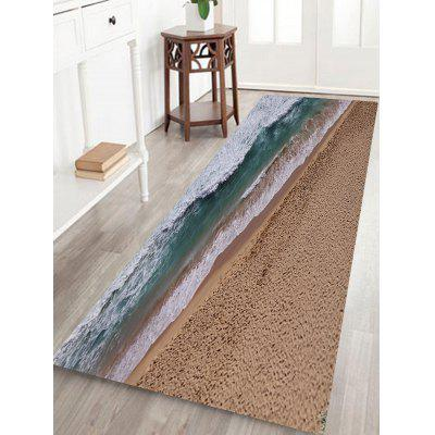 Buy Beach Pattern Non-slip Floor Area Rug COLORMIX for $14.27 in GearBest store