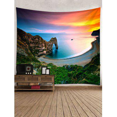 Mountain Beach Print Tapestry Wall Hanging DecorBlankets &amp; Throws<br>Mountain Beach Print Tapestry Wall Hanging Decor<br><br>Feature: Removable, Washable<br>Material: Polyester<br>Package Contents: 1 x Tapestry<br>Shape/Pattern: Mountain<br>Style: Natural<br>Theme: Beach Theme,Landscape<br>Weight: 0.3000kg