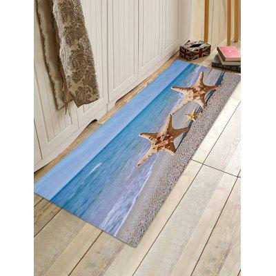Beach Starfishes Family Print Floor RugBlankets &amp; Throws<br>Beach Starfishes Family Print Floor Rug<br><br>Materials: Coral FLeece<br>Package Contents: 1 x Rug<br>Products Type: Bath rugs<br>Shape: Rectangle<br>Style: Beach Style
