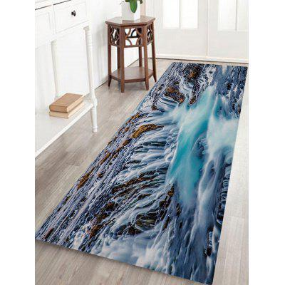 Waterfalls Print Floor Rug