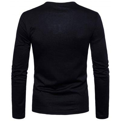 Crew Neck Camouflage Panel T-shirtMens Long Sleeves Tees<br>Crew Neck Camouflage Panel T-shirt<br><br>Collar: Crew Neck<br>Embellishment: Zippers<br>Material: Cotton, Polyester<br>Package Contents: 1 x T-shirt<br>Pattern Type: Color Block<br>Season: Spring<br>Sleeve Length: Full<br>Style: Fashion, Casual, Streetwear<br>Weight: 0.3200kg