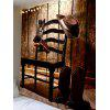 Chair Hanging Cowboy Accessories Print Tapestry - BROWN