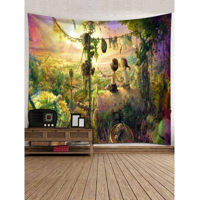Rurality Print Tapestry Wall Hanging DecorBlankets &amp; Throws<br>Rurality Print Tapestry Wall Hanging Decor<br><br>Feature: Removable, Washable<br>Material: Polyester<br>Package Contents: 1 x Tapestry<br>Shape/Pattern: Print<br>Style: Natural<br>Theme: Landscape<br>Weight: 0.4000kg