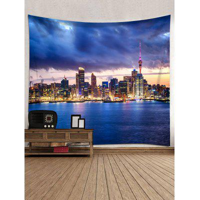 City Night Scene Print Tapestry Wall Hanging DecorBlankets &amp; Throws<br>City Night Scene Print Tapestry Wall Hanging Decor<br><br>Feature: Removable, Washable<br>Material: Polyester<br>Package Contents: 1 x Tapestry<br>Shape/Pattern: Print<br>Style: Fashion<br>Weight: 0.3000kg