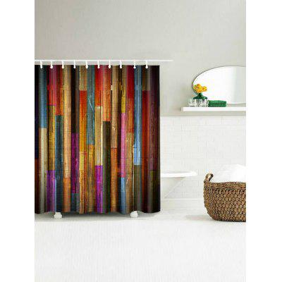 Colorful Wood Board Print Waterproof Bath CurtainShower Curtain<br>Colorful Wood Board Print Waterproof Bath Curtain<br><br>Materials: Polyester<br>Number of Hook Holes: W59 inch*L71 inch; W65 inch * L71 inch: 10; W71 inch*L71 inch: 12; W71 inch*L79 inch: 12<br>Package Contents: 1 x Shower Curtain 1 x Hooks (Set)<br>Pattern: Wood Grain<br>Products Type: Shower Curtains<br>Style: Trendy