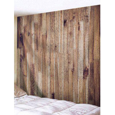Vertical Wood Grain Print Tapestry