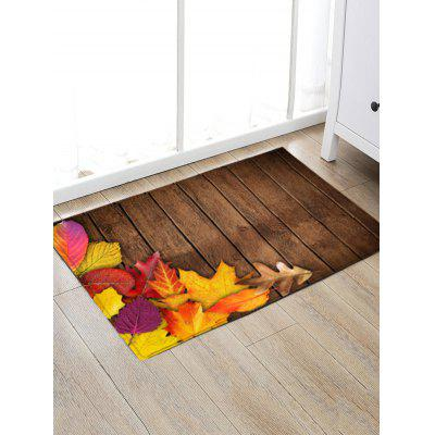 Leaves Wood Flooring Print Indoor Outdoor Area RugBlankets &amp; Throws<br>Leaves Wood Flooring Print Indoor Outdoor Area Rug<br><br>Materials: Flannel<br>Package Contents: 1 x Rug<br>Pattern: Wood Grain<br>Products Type: Bath rugs<br>Shape: Rectangle<br>Style: Vintage