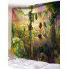 Rurality Print Tapestry Wall Hanging Decor - COLORMIX