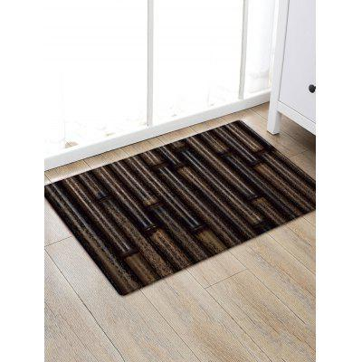Bamboo Print Anti-skid Water Absorption Area Rug