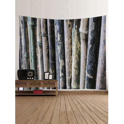 Natural Bamboos Print TapestryBlankets &amp; Throws<br>Natural Bamboos Print Tapestry<br><br>Feature: Washable, Waterproof<br>Material: Polyester<br>Package Contents: 1 x Tapestry<br>Shape/Pattern: Print<br>Style: Natural<br>Weight: 0.3000kg