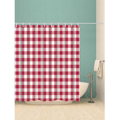 Plaid Print Waterproof Bath CurtainShower Curtain<br>Plaid Print Waterproof Bath Curtain<br><br>Materials: Polyester<br>Number of Hook Holes: W59 inch*L71 inch: 10; W71 inch*L71 inch: 12; W71 inch*L79 inch: 12<br>Package Contents: 1 x Shower Curtain 1 x Hooks (Set)<br>Pattern: Plaid<br>Products Type: Shower Curtains<br>Style: Vintage