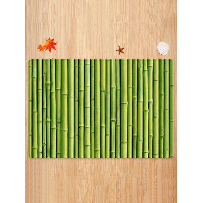 Bamboo Pole Print Indoor Outdoor Area RugBlankets &amp; Throws<br>Bamboo Pole Print Indoor Outdoor Area Rug<br><br>Materials: Flannel<br>Package Contents: 1 x Rug<br>Pattern: Plant<br>Products Type: Bath rugs<br>Shape: Rectangle<br>Style: Natural