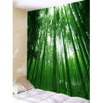 Bamboo Forest Print Tapestry