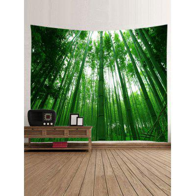 Bamboo Forest Print TapestryBlankets &amp; Throws<br>Bamboo Forest Print Tapestry<br><br>Feature: Washable, Waterproof<br>Material: Polyester<br>Package Contents: 1 x Tapestry<br>Shape/Pattern: Forest<br>Style: Natural<br>Weight: 0.3000kg