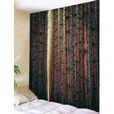 Dry Forest Trees Print Tapestry Wall Hanging Decoration