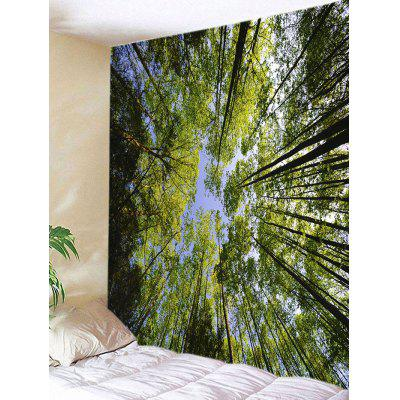 Forest Sky Print Tapestry Wall Hanging Art Decoration