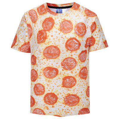All-over Mouthwatering Pepperoni Pizza T-shirt