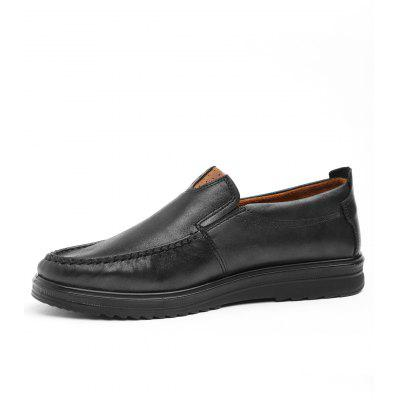 Casual Slip On LoafersCasual Shoes<br>Casual Slip On Loafers<br><br>Closure Type: Slip-On<br>Embellishment: None<br>Gender: For Men<br>Occasion: Casual<br>Outsole Material: Rubber<br>Package Contents: 1 x Loafers (pair)<br>Pattern Type: Solid<br>Season: Spring/Fall<br>Shoe Width: Medium(B/M)<br>Toe Shape: Round Toe<br>Toe Style: Closed Toe<br>Upper Material: PU<br>Weight: 1.1400kg