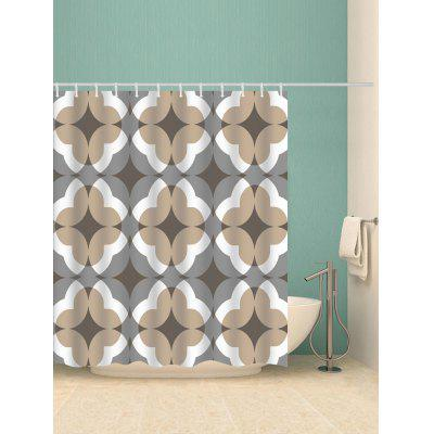 Geometric Print Shower CurtainShower Curtain<br>Geometric Print Shower Curtain<br><br>Materials: Polyester<br>Number of Hook Holes: W59 inch*L71 inch: 10; W71 inch*L71 inch: 12; W71 inch*L79 inch: 12<br>Package Contents: 1 x Shower Curtain 1 x Hooks (Set)<br>Pattern: Geometric<br>Products Type: Shower Curtains<br>Style: Elegant