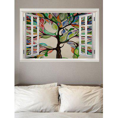 Life Tree Painting Printed Wall Decal