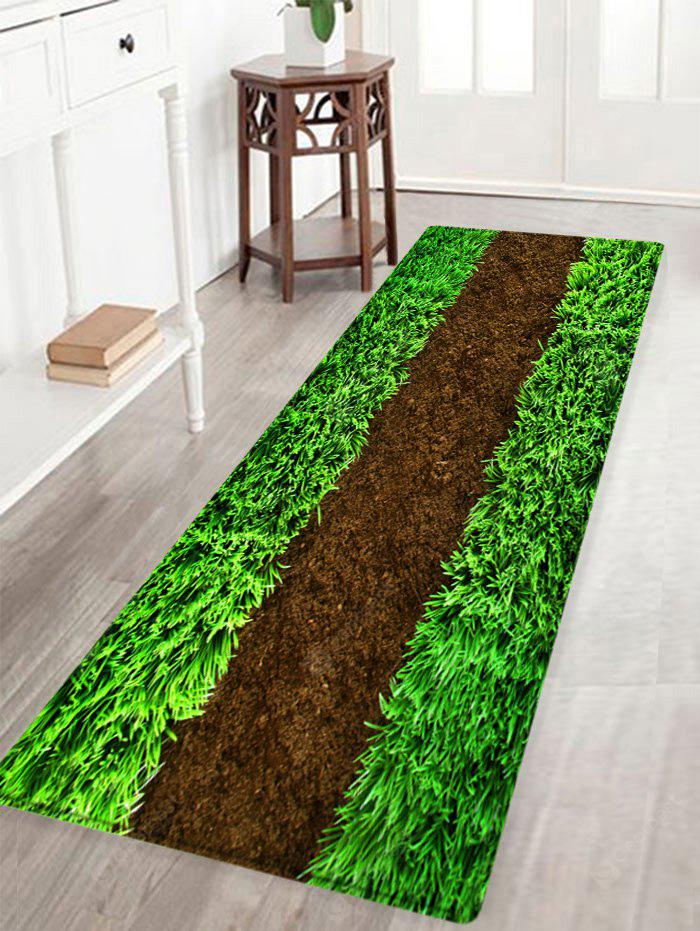 Lawn Pattern Indoor Outdoor Area Rug