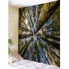 Sunshine Forest Sky Print Tapestry Wall Hanging Decor - VERDE