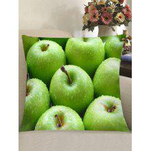 "Fresh <span class=""es_hl_color"">Apples</span> Printed Throw Pillow Case"