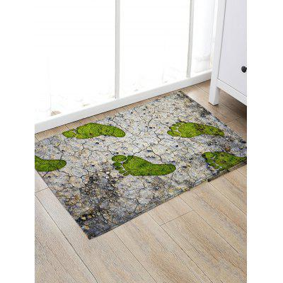 Footprint Cracked Land Print Floor RugBlankets &amp; Throws<br>Footprint Cracked Land Print Floor Rug<br><br>Materials: Flannel<br>Package Contents: 1 x Rug<br>Pattern: Print<br>Products Type: Bath rugs<br>Style: Trendy