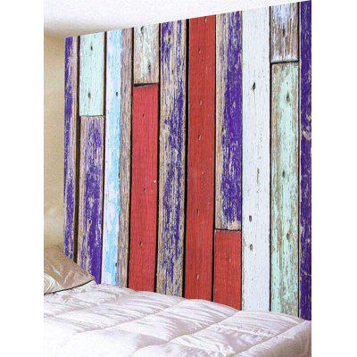 Retro Laths Print Tapestry Wall Hanging Decor