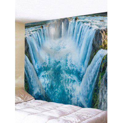 Big Waterfalls Printed Wall Decor Tapestry
