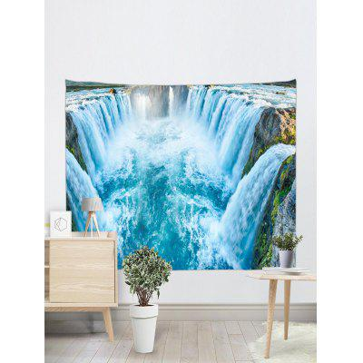 Big Waterfalls Printed Wall Decor TapestryBlankets &amp; Throws<br>Big Waterfalls Printed Wall Decor Tapestry<br><br>Feature: Removable<br>Material: Polyester<br>Package Contents: 1 x Tapestry<br>Shape/Pattern: Water<br>Style: Natural<br>Theme: Landscape<br>Weight: 0.2700kg