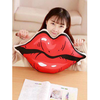 Lip Shape Soft Throw PillowPillow<br>Lip Shape Soft Throw Pillow<br><br>Materials: Polyester / Cotton<br>Package Contents: 1 x Pillow<br>Package Size ( L x W x H ): 60.00 x 30.00 x 3.00 cm / 23.62 x 11.81 x 1.18 inches<br>Type: Decorative Pillows<br>Weight: 1.0800kg