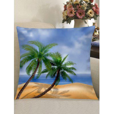 Coconut Tree Printed Home Decor Pillowcase