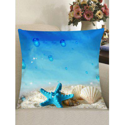 Starfish Ocean Pattern Sofa Pillowcase