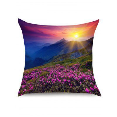 Morning Sunlight Lavender Grassland Printed Pillow CasePillow<br>Morning Sunlight Lavender Grassland Printed Pillow Case<br><br>Fabric Type: Linen<br>Material: Linen<br>Package Contents: 1 x Pillow Case<br>Pattern: Floral<br>Shape: Square<br>Style: Natural<br>Weight: 0.0700kg