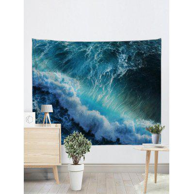 Huge Sea Waves Printed Wall Art TapestryBlankets &amp; Throws<br>Huge Sea Waves Printed Wall Art Tapestry<br><br>Feature: Removable<br>Material: Polyester<br>Package Contents: 1 x Tapestry<br>Shape/Pattern: Print<br>Style: Natural<br>Theme: Landscape<br>Weight: 0.2700kg