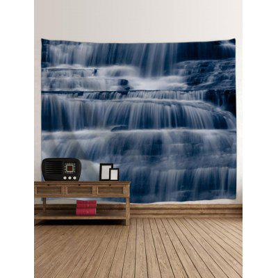 Layered Mountain Waterfalls Printed Wall Art TapestryBlankets &amp; Throws<br>Layered Mountain Waterfalls Printed Wall Art Tapestry<br><br>Feature: Removable<br>Material: Polyester<br>Package Contents: 1 x Tapestry<br>Shape/Pattern: Print,Water<br>Style: Natural<br>Theme: Landscape<br>Weight: 0.2700kg