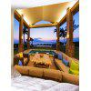Pavilion Print Tapestry Wall Hanging Decor - COLORMIX