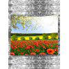 Garden Scenery Print Tapestry - COLORMIX