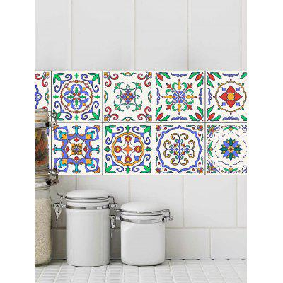 Patterned Waterproof Bathroom Tile StickersWall Stickers<br>Patterned Waterproof Bathroom Tile Stickers<br><br>Feature: Removable<br>Functions: Decorative Wall Stickers<br>Material: PVC<br>Package Contents: 20 x Tile Stickers (Pcs)<br>Pattern Type: Print<br>Wall Sticker Type: Plane Wall Stickers<br>Weight: 0.1800kg