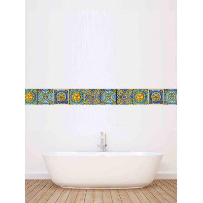20Pcs Vintage Floral Waterproof Wall Tile StickersWall Stickers<br>20Pcs Vintage Floral Waterproof Wall Tile Stickers<br><br>Feature: Removable<br>Functions: Decorative Wall Stickers<br>Material: PVC<br>Package Contents: 20 x Wall Tile Stickers (Pcs)<br>Pattern Type: Floral<br>Wall Sticker Type: Plane Wall Stickers<br>Weight: 0.0850kg