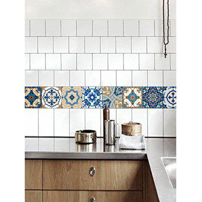 20Pcs Traditional Floral Print Square Wall Tile StickersWall Stickers<br>20Pcs Traditional Floral Print Square Wall Tile Stickers<br><br>Feature: Removable<br>Functions: Decorative Wall Stickers<br>Material: PVC<br>Package Contents: 20 x Wall Stickers (Pcs)<br>Pattern Type: Floral<br>Theme: Florals<br>Wall Sticker Type: Plane Wall Stickers<br>Weight: 0.0850kg