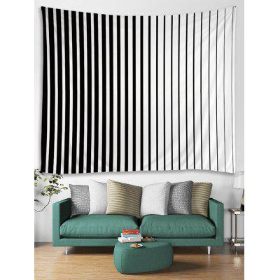 Two Tone Stripe Print Tapestry Wall Hanging Art uni uni t ut136b дешевый метр autoranging