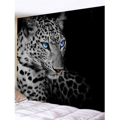 Leopard Eyes Print Tapestry Wall Hanging Decor