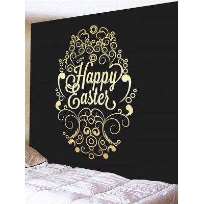 Happy Easter Print Tapestry