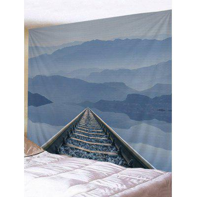 Mountain Railway Print Wall Hanging Tapestry