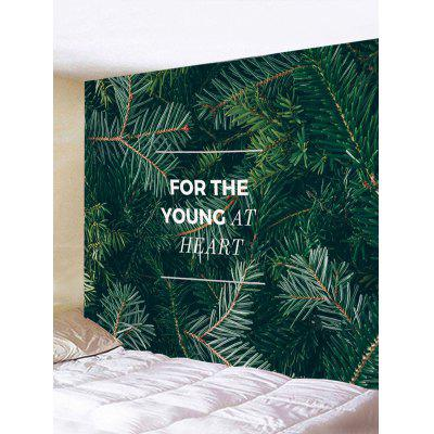 Pine Needle Print Wall Hanging Tapestry