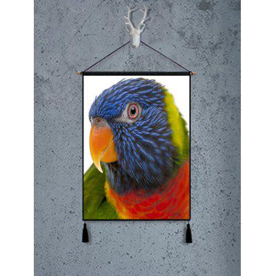 Parrot Print Wall Art Painting